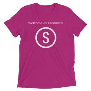 Welcome All Dreamers Short sleeve t-shirt