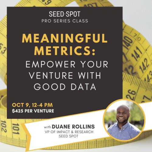 Metrics Pro Series